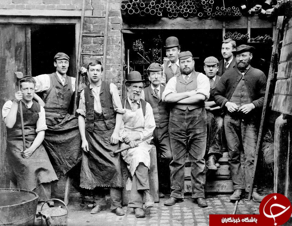 انگلستان  قرن 18 و 19 را در این تصاویر ببینید