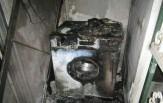 باشگاه خبرنگاران - ماشین لباسشویی یک واحد مسکونی را به آتش کشید+ تصاویر