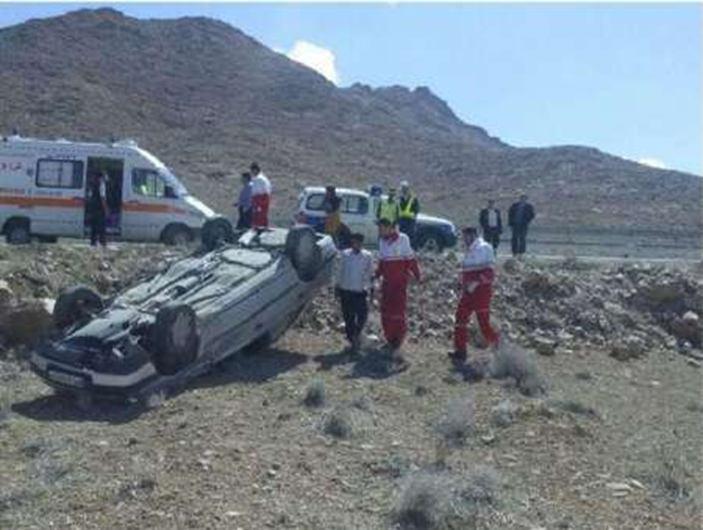 واژگونی پژو 6 مصدوم و کشته برجای گذاشت
