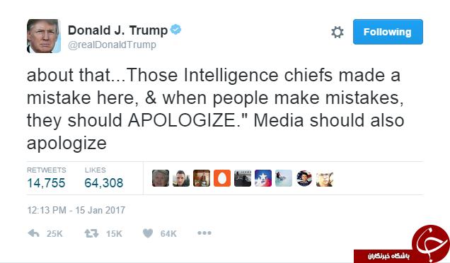 توییتر ترامپ عرصه جنگ داخلی شد