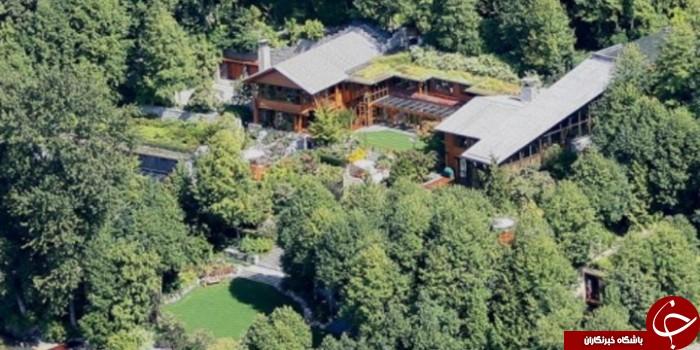 12 واقعیت جالب درباره خانه اعیانی بیل گیتس