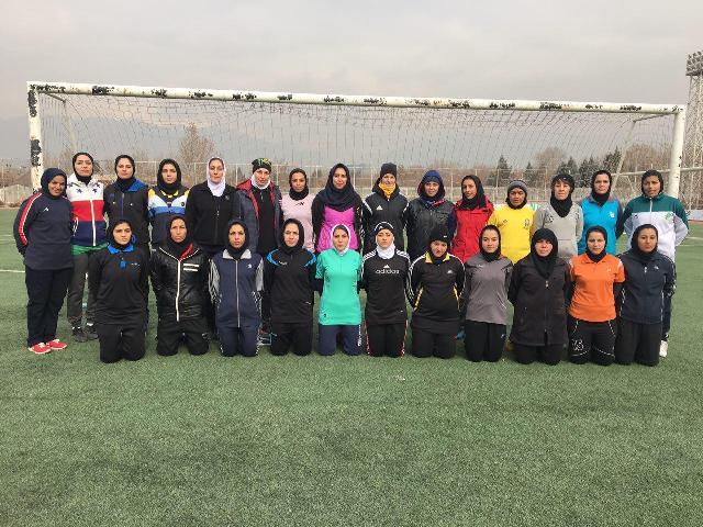 پایان دوره توجیهی برای مربیان فوتبال بانوان