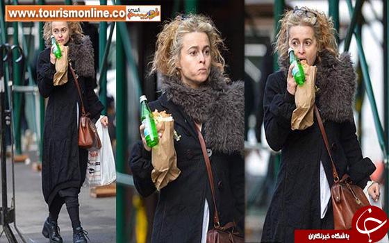 تیپِ این زن هالیوودی با فقیر فرقی ندارد! +تصاویر