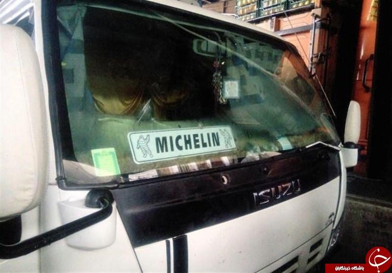 مرگ بدون درد راننده کامیونت هنگام استراحت داخل خودرو + عکس