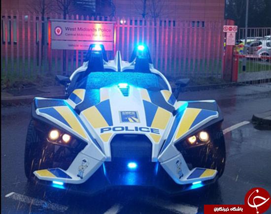 باشگاه خبرنگاران -بتمبیل ماشین پلیس میشود +تصاویر