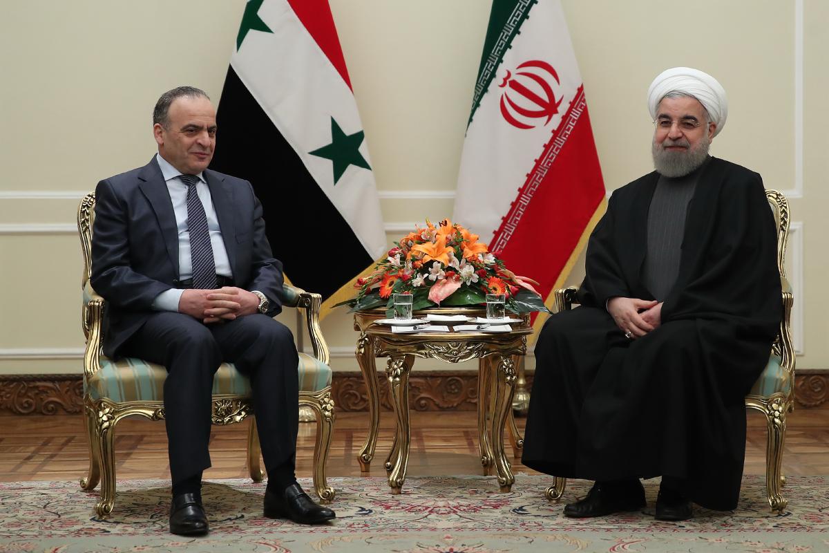دیدار نخست وزیر سوریه با رئیس جمهور