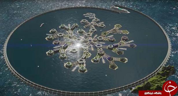 رویای نخستین شهر شناور جهان به زودی محقق خواهد شد+ تصاویر