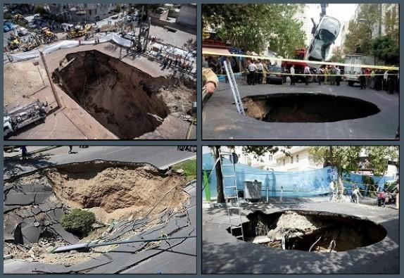 باشگاه خبرنگاران - حفرههای مرگ زیرپای تهران/ سرنخ فرونشست زمین در پایتخت کجاست؟