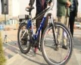 باشگاه خبرنگاران - رونمایی از دوچرخه های برقی در روز هوای پاک