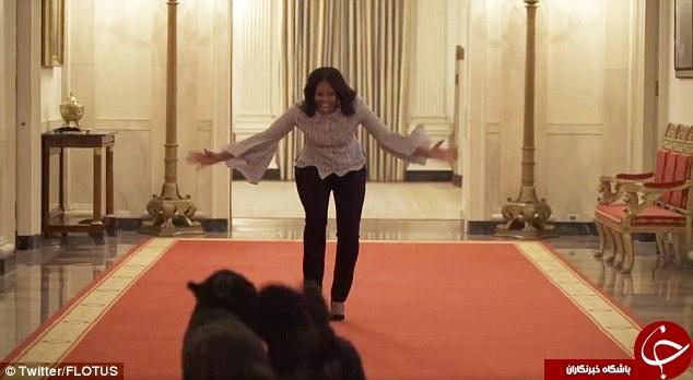 آخربن نگاههای بانوی اول کاخ سفید به خانهاش +فیلم و تصاویر