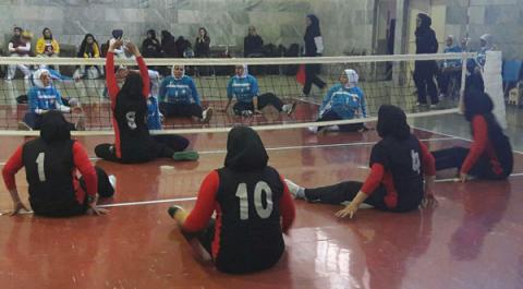 زمان مرحله نهایی رقابت های لیگ والیبال نشسته بانوان مشخص شد