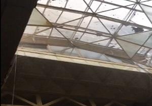 فیلم لحظه فرو ریختن ساختمان پلاسکو تهران | 30 دی 95 | علت ریزش + عکس