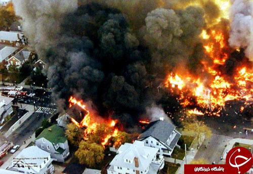 تاریخچه سقوط هواپیماها بر روی مناطق مسکونی+ تصاویر