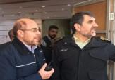 باشگاه خبرنگاران - عکس/ حضور قالیباف در محل حادثه ساختمان پلاسکو