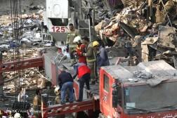 باشگاه خبرنگاران - خسارات ناشی از فروریختن ساختمان پلاسکو