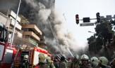 باشگاه خبرنگاران - تماس آتش نشانان محبوس با همکاران خود