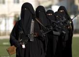 باشگاه خبرنگاران -رژه زنان ارتش یمن ضد آل سعود +تصاویر