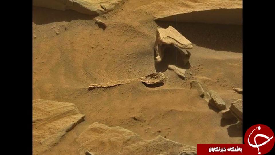 کشف قاشق متعلق به موجودات فضایی در سطح مریخ +تصاویر