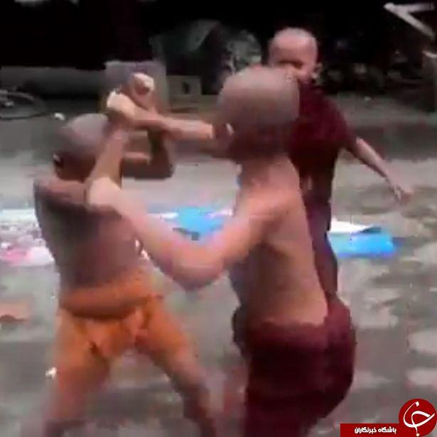 در معابد بودا به کودکان چه یاد می دهند + تصاویر
