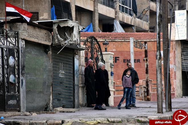گزارش تصویری از محلههای زبدیه و صلاح الدین در حلب