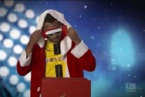تبریک جالب کریسمس توسط ستارگان بوندس لیگا + فیلم