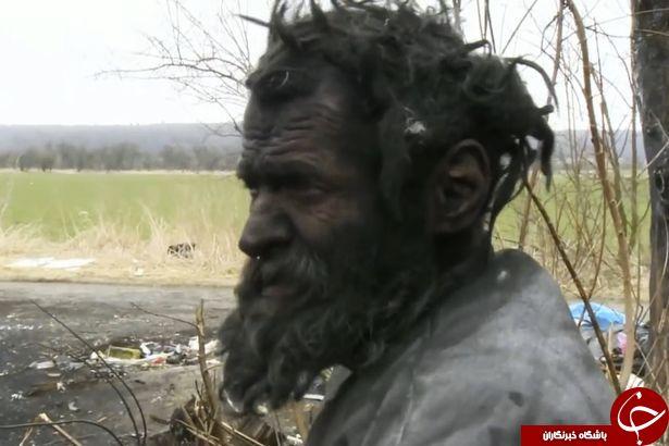 کثیف ترین مرد اروپا درگذشت+ تصاویر