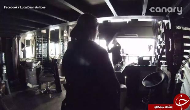 دزدان ناشی متوجه دوربین مخفی مغازه نشدند + فیلم