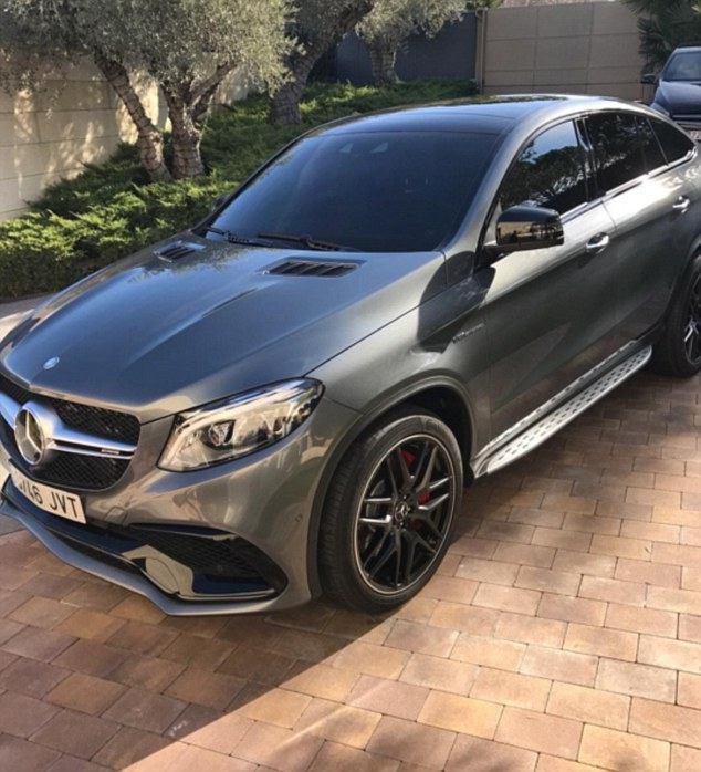 رونالدو  و خرید خودروی جدید +عکس