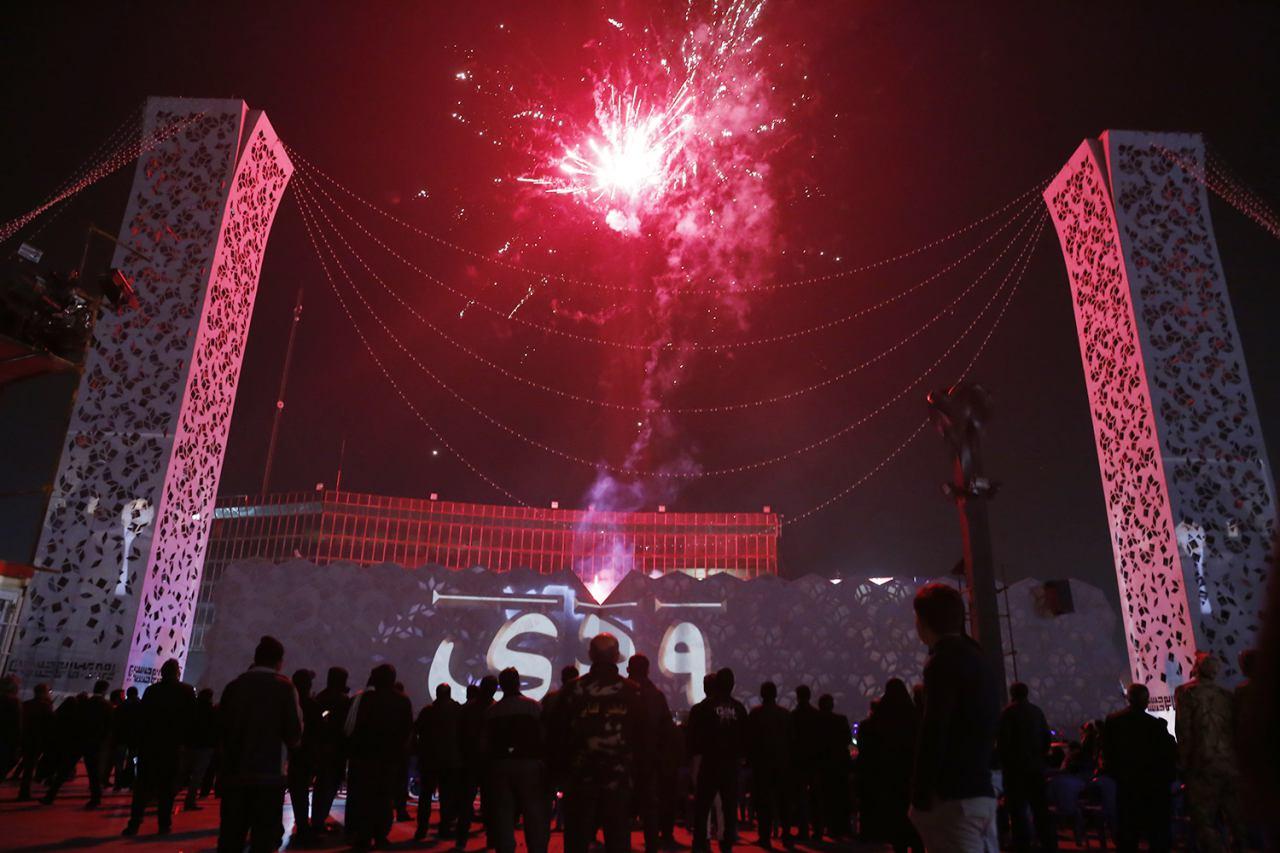 نمایشی با موضوع فتنه 88 و حماسه 9 دی در میدان امام حسین (ع) اجرا شد