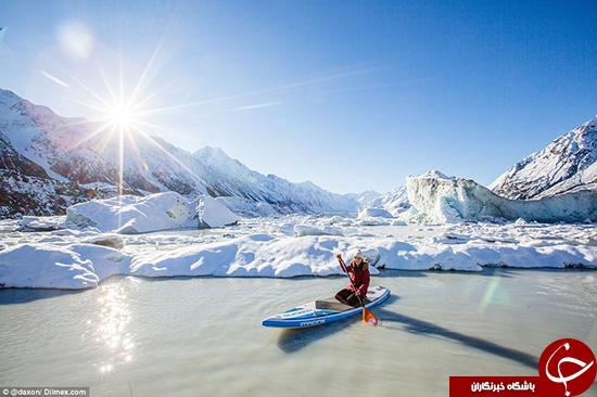 ماجراجویی در بین یخها +تصاویر