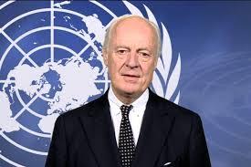استقبال دی میستورا از توافقنامه توقف درگیریها در سوریه