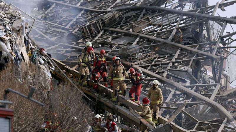 آخرین اخبار امداد و نجات در پلاسکو از زبان مدیرعامل سازمان آتشنشانی