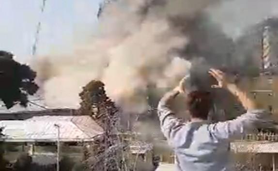باشگاه خبرنگاران - نزدیکترین نما از لحظه دلهرهآور تخریب ساختمان پلاسکو + فیلم