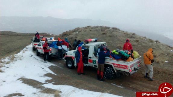 برقراری ارتباط تلفنی با ۳ کوهنورد مفقود در ارتفاعات بینالود