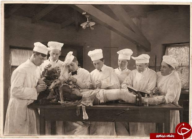 سلفی های ترسناک دانشجویان پزشکی در گذشته