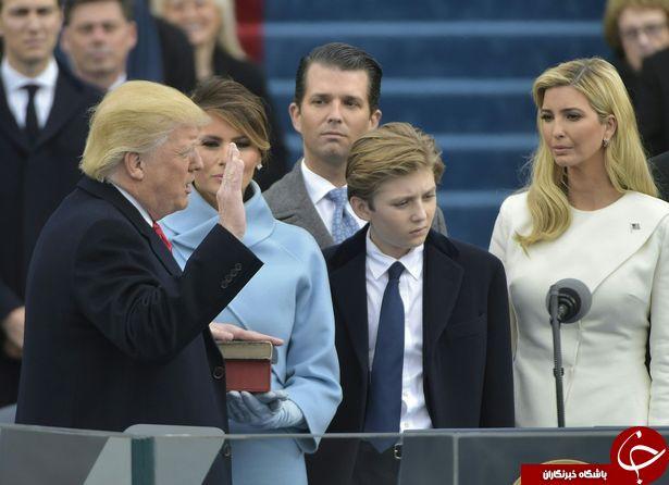 علت ناراحتی همسر ترامپ؛ ملانیا در مراسم تحلیف چه بود؟/////فیلم باید اضافه شود