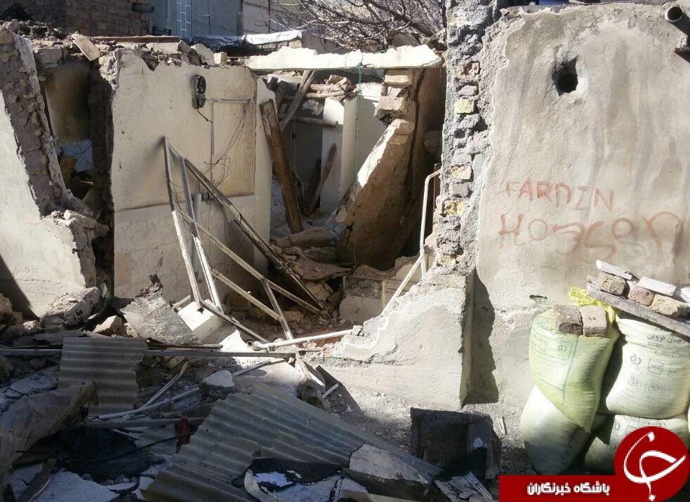 مرگ دختر دانشجو با انفجار منزل مسکونی! + تصاویر