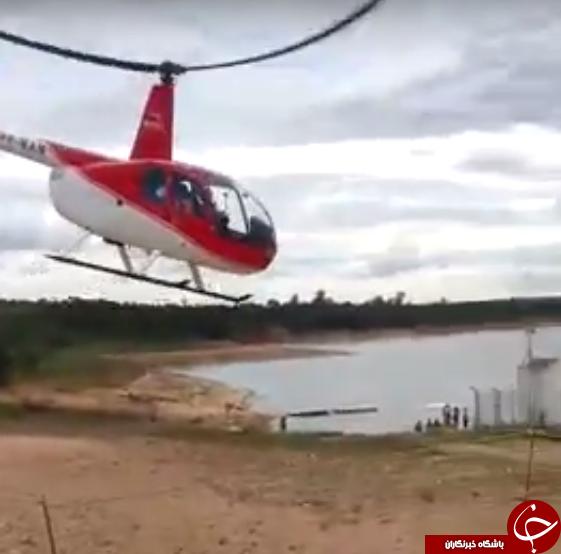 خلبانی زنی که از لحظه سقوطش فیلم گرفت+ فیلم