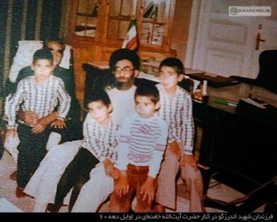 خبر شهادت کدام شهید را امام خمینی (ره) به خانواده اش داد؟