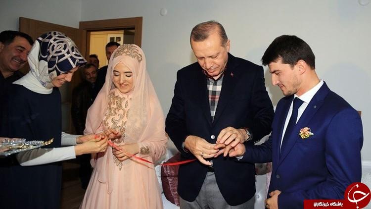 حضور اردوغان در مراسم خواستگاری یک شهروند ترکیه + عکس
