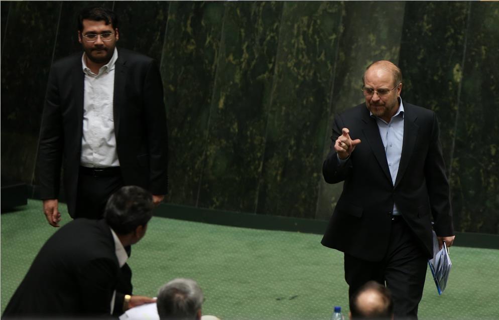قالیباف در مجلس