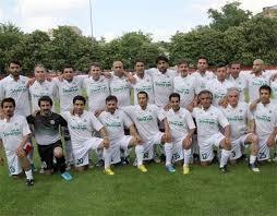 همدان میزبان جام جهانی فوتبال هنرمندان شد