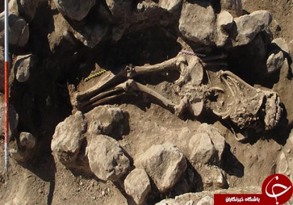 کشف اجساد دوره ساسانیان در منطقه کوهدشت لرستان+ تصاویر