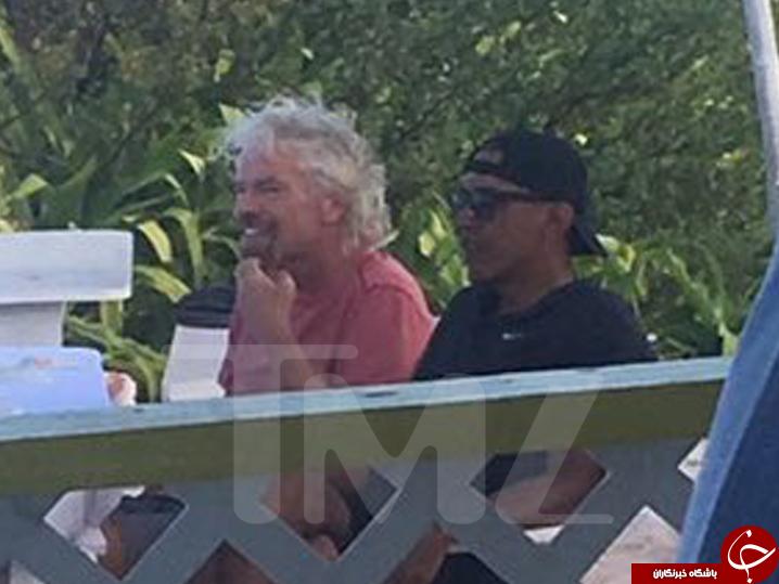 اوباما در جزایر کارائیب چه کار میکند؟+ تصاویر