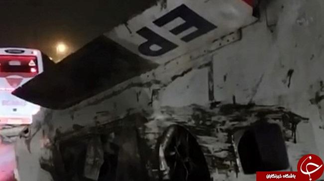 سقوط هواپيما در حصارک كرج! + فیلم