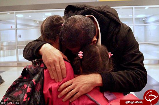 ملاقات خانواده سوری بعد از دو سال +تصاویر