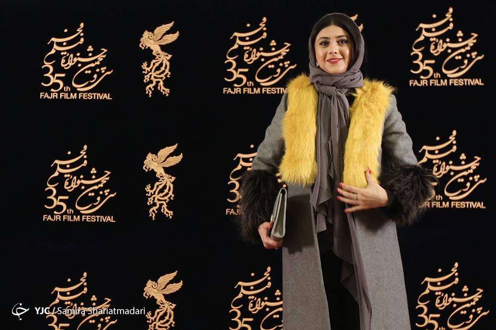 جشنواره فجر آزاده صمدی