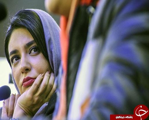متفاوت ترین عکس بازیگر زن در کاخ جشنواره فیلم فجر