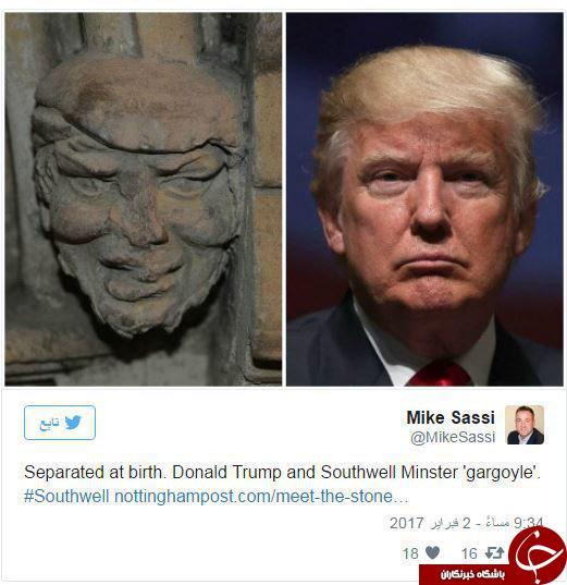 ترامپ هفت هزار ساله پیدا شد +عکس