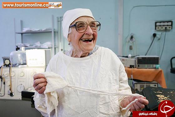 مسن ترین جراح جهان/ این پزشکِ 90 ساله راز جالبِ طول عمرش را فاش کرد! +تصاویر